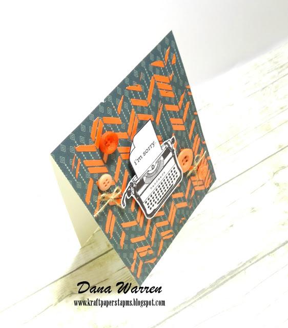 Dana Warren - Kraft Paper Stamps - Mama Elephant