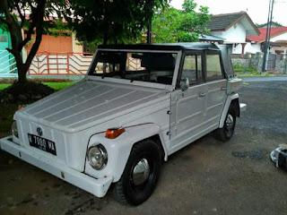 Dijual VW Camat Safari Tahun 76 Putih Keren