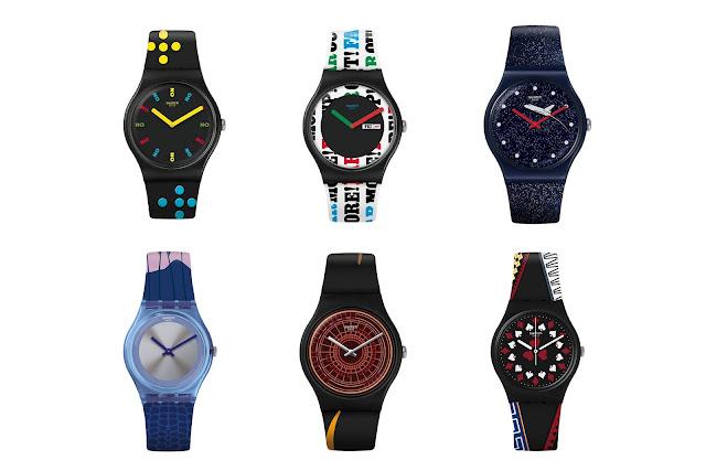 Colección Swatch X 007