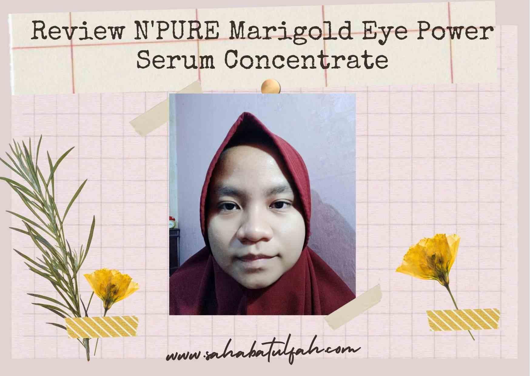 N'PURE-Marigold-Eye-Serum