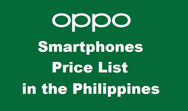 OPPO Smartphones Price List