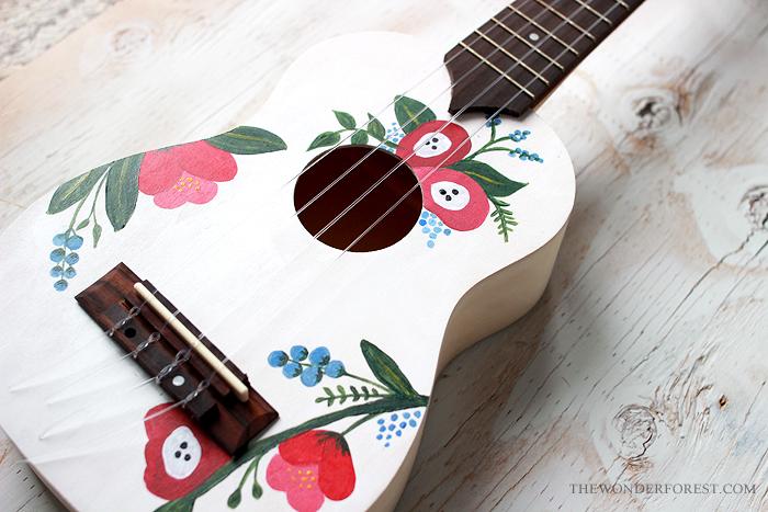 gift idea make your own diy ukulele wonder forest design your life. Black Bedroom Furniture Sets. Home Design Ideas