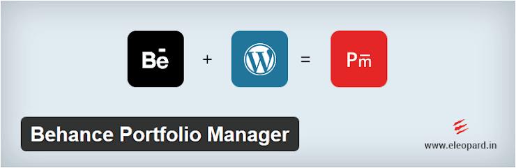 Behance Portfolio Manager plugin