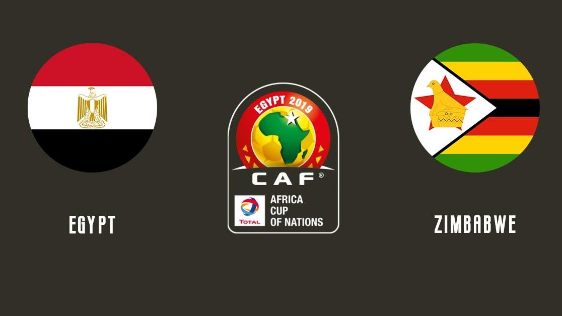 مشاهدة مباراة مصر و زيمبابوي 21-06-2019 كأس إمم إفريقيا