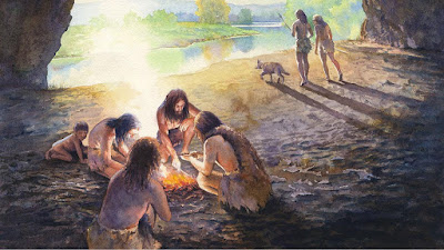 Neanderthals may have used manganese dioxide for use in fire making