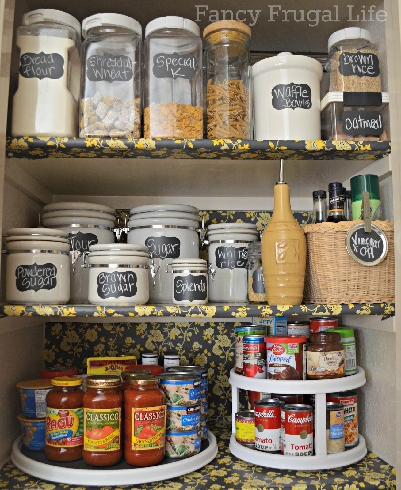 Organize Kitchen Pantry: