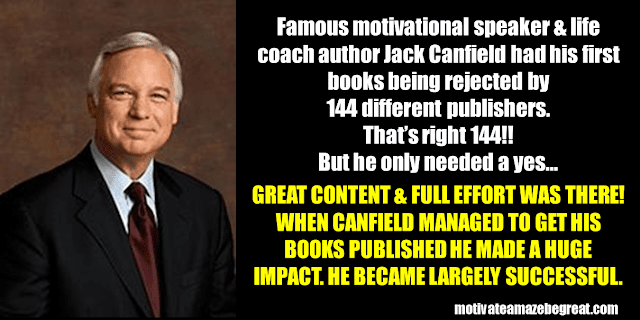 Success Stories From Famous People Who Failed Before Succeeding: Jack Canfield