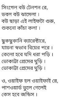 Bhokatta Premer Ghuri Lyrics