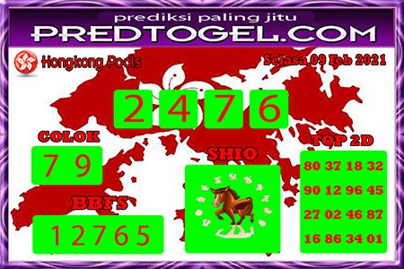 Pred HK selasa 09 Februari 2021