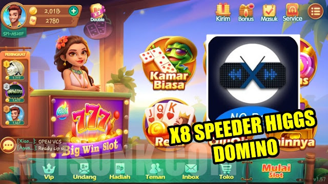 X8 Speeder Higgs Domino Download For Android