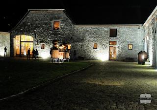 Distillerie de Biercée by night