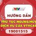 Hướng dẫn thủ tục ngưng - hủy dịch vụ của VTVCab