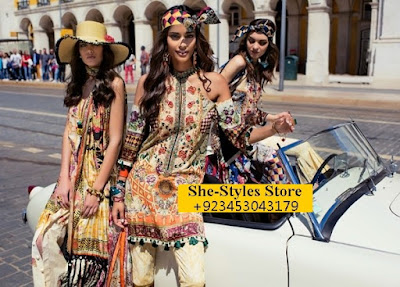 Shehla Chatoor Lawn 2017 full catalogue