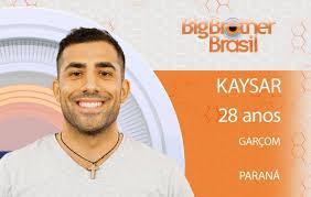 #BBB18: Kaysar relata a dor de perder seu grande amor na guerra