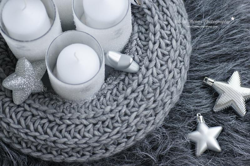 strick adventskranz selber machen diy adventskranz aus einem schal nicest things. Black Bedroom Furniture Sets. Home Design Ideas