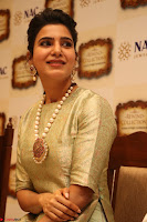Samantha Ruth Prabhu in Cream Suit at Launch of NAC Jewelles Antique Exhibition 2.8.17 ~  Exclusive Celebrities Galleries 032.jpg