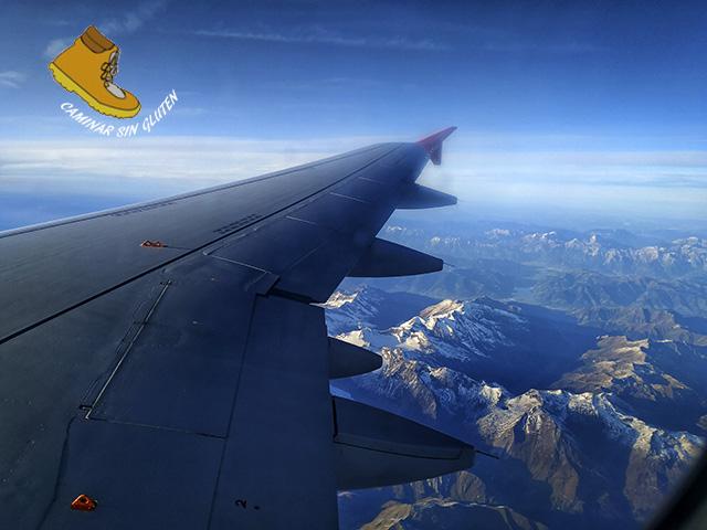 Volando de Viena a Madrid. Eslovaquia sin gluten