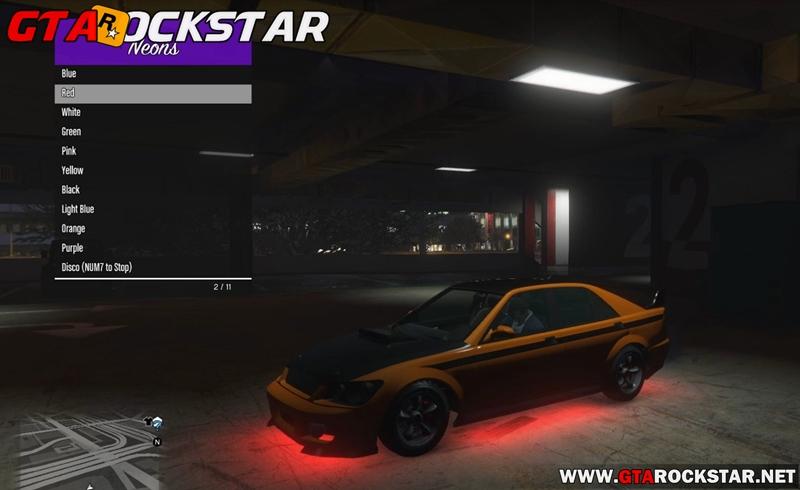 Mod Tunar Carro onde Quiser para GTA V