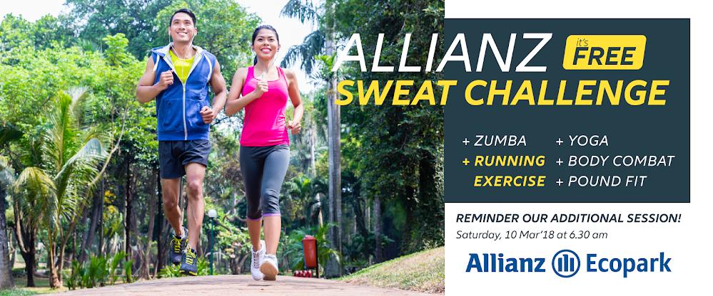 Allianz Sweat Challenge - Running Exercise • 2018