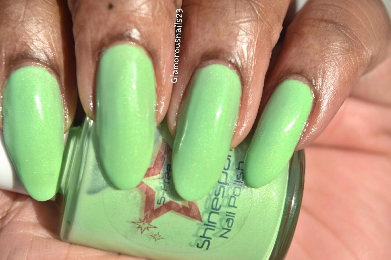 Shinespark Polish Green Apple Swatch