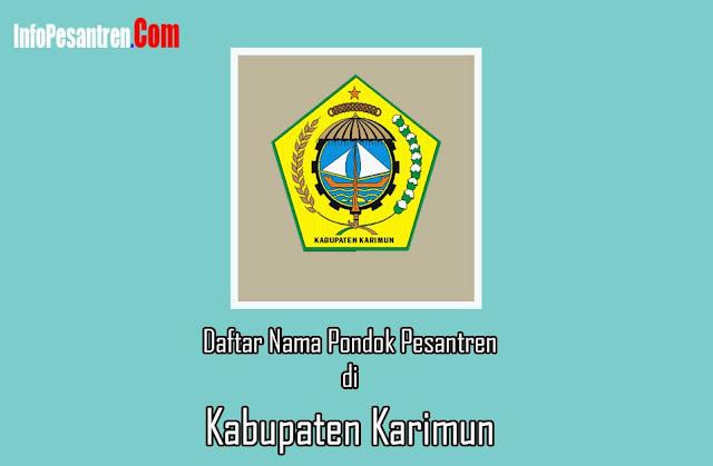 Pondok Pesantren di Kabupaten Karimun