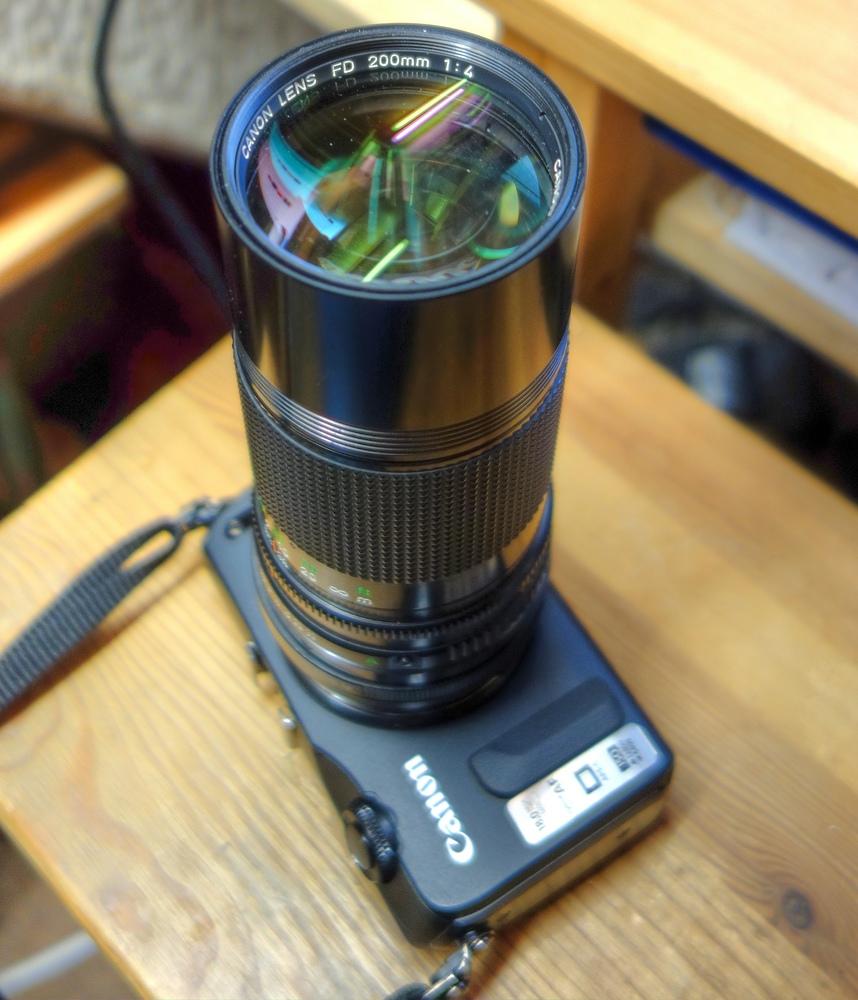 lightseeker org / Lichtsucher com: The Canon FD 200mm f/4 0 adapted