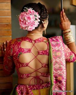 blouse design for kerala saree
