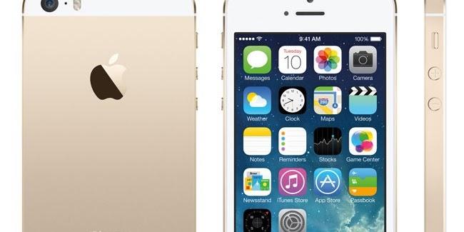 Kelebihan dan Kekurangan iPhone 5s Terbaru 2017 - Spesifikasi iOS 7