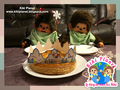 kiki Monchhichi galette rois fève reine roi tirer frangipane tradition