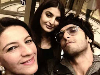 Ranveer Singh With His Family
