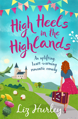 High Heels in the Highlands by Liz Hurley book cover