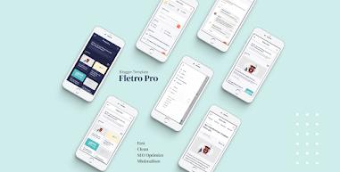 Fletro Pro V5.5 Responsive Blogger Template