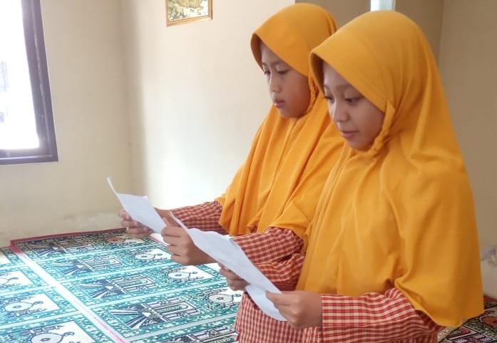 Yona Dan Ais Wakili SDN 2 Karang luhur Kertek Lomba Tingkat Kecamatan