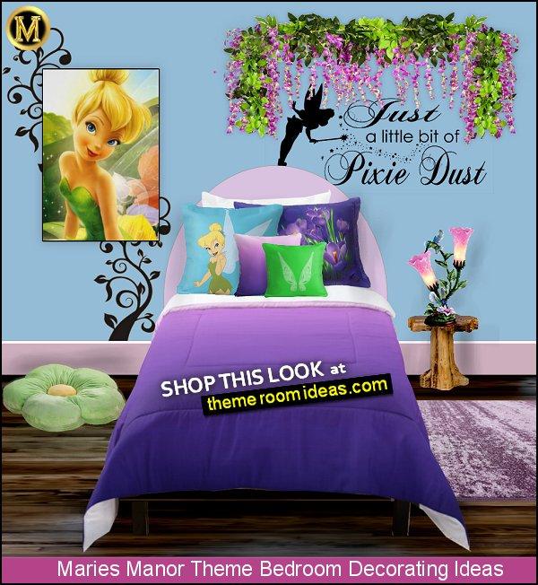 TINKERBELL BEDROOM DECORATING tinkerbell decor tinkerbell purple bedroom tink wall art