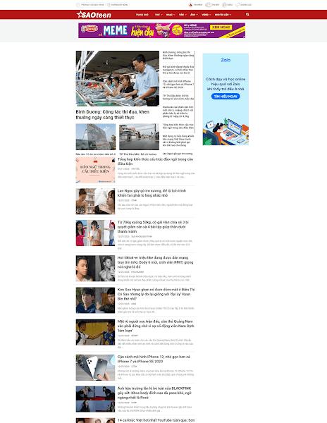 Template blogspot tin tức phù hợp cho các trang báo