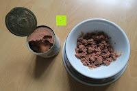 Dose und Napf: AniForte® PureNature 200g feines Menü Nassfutter für Katzen Katzenfutter- Naturprodukt für Katzen