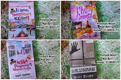 Preloved novel murah RM10.00