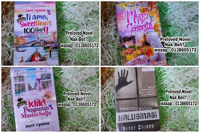 Preloved novel murah RM10.00