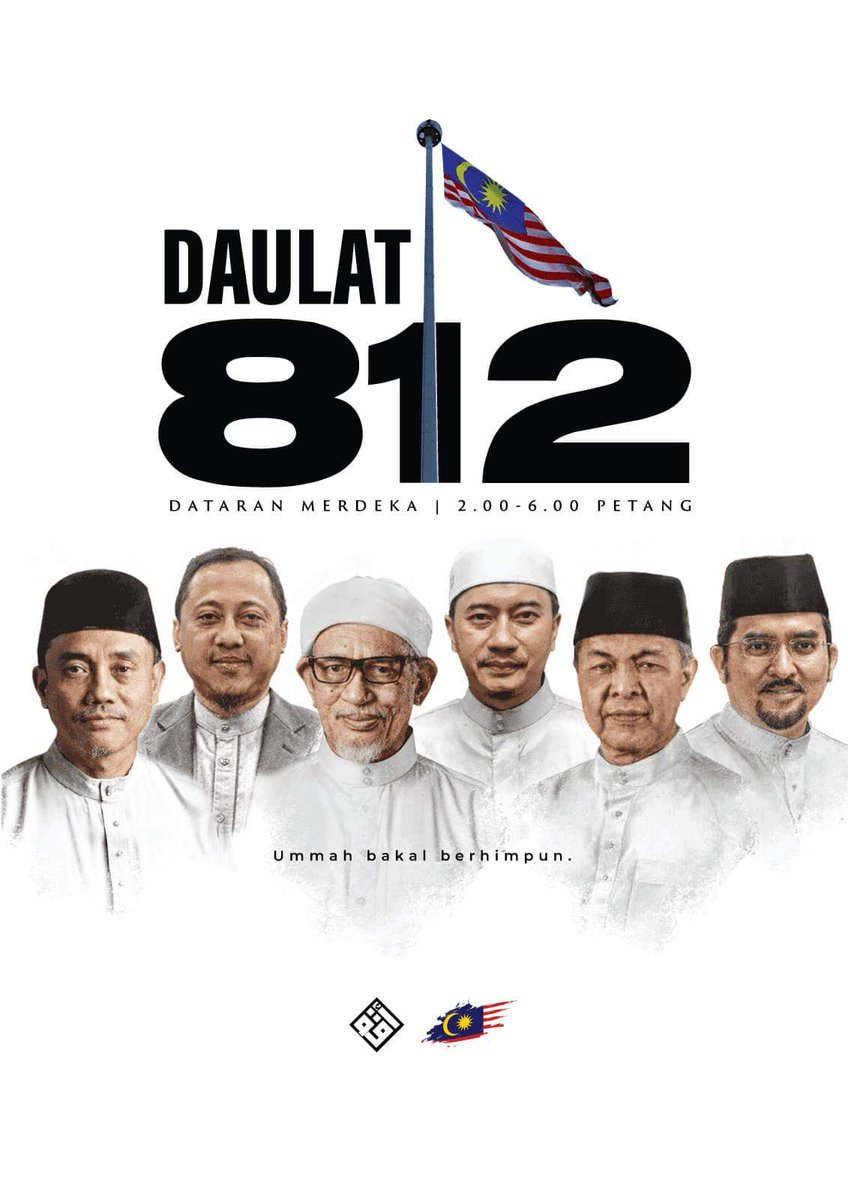 Terinspirasi 212, Rakyat Malaysia Gelar Aksi 812