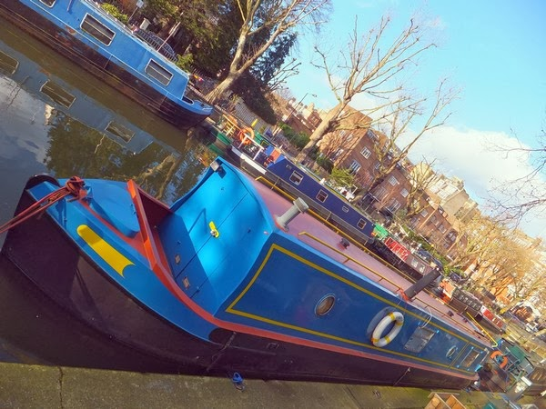 Londres London Little Venice canaux