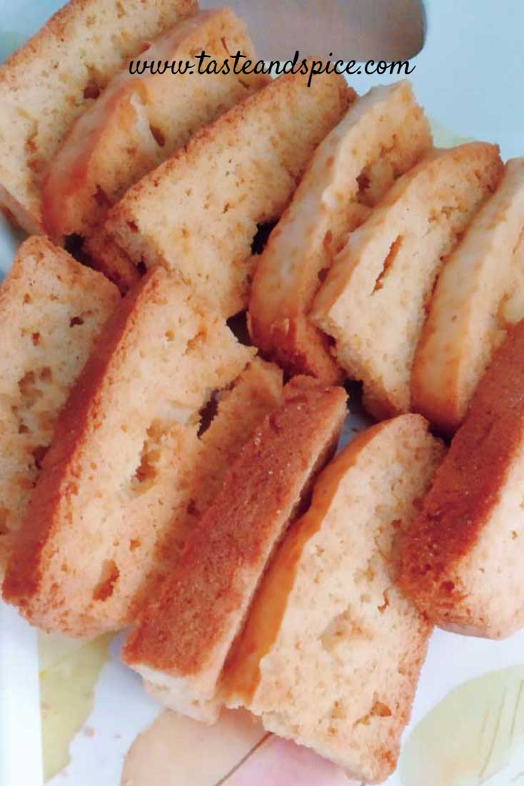 How To Make Cake Rusk without Oven