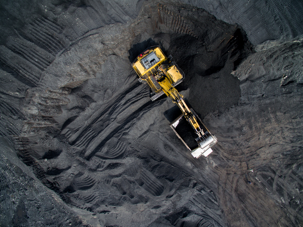 Tambang batu bara skala besar