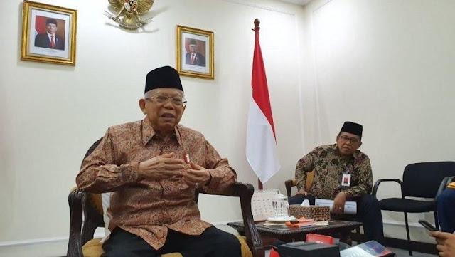 Ma'ruf Amin soal Kabinet: Jokowi, Saya, NU, dan Muhammadiyah Tak Puas