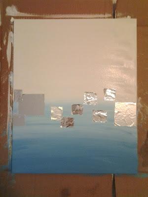 aluminum foil painting