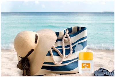 Trousse de l'été, au naturel (Crème solaire, Huile pour corps et cheveux, Huile scintillante)
