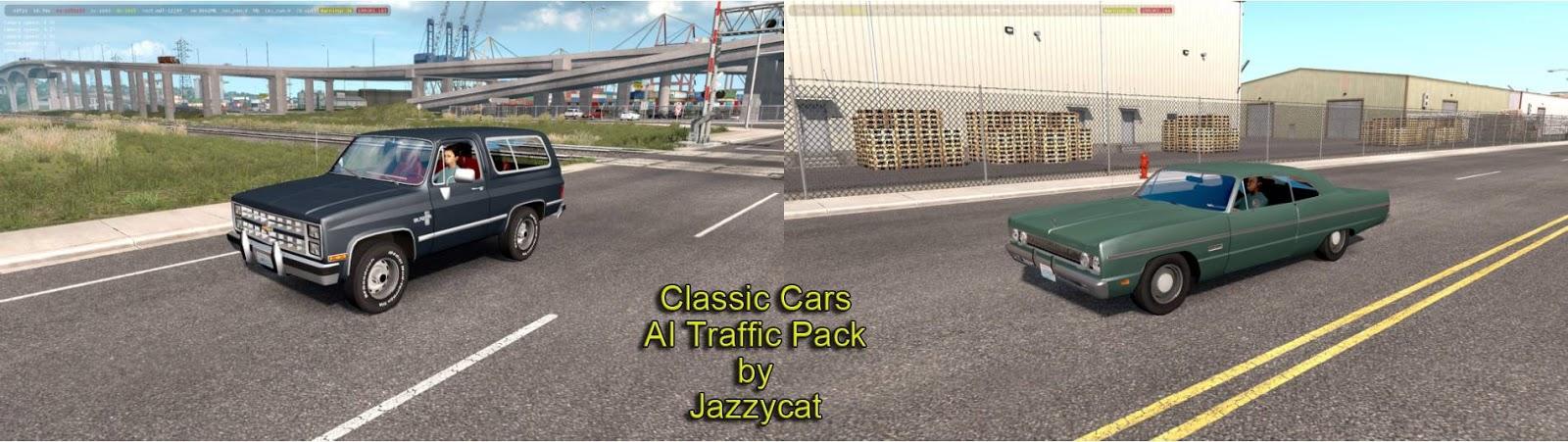 Sinagrit Baba's Workshop: ATS - Classic Cars AI Traffic Pack