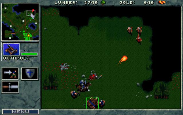 Warcraft 1 Catapult Screenshot