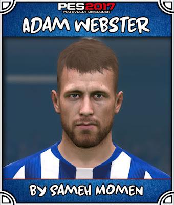 PES 2017 Adam Webster Face by Sameh Momen
