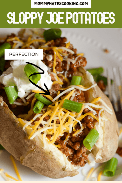 Sloppy Joe Stuffed Potato Easy Recipe