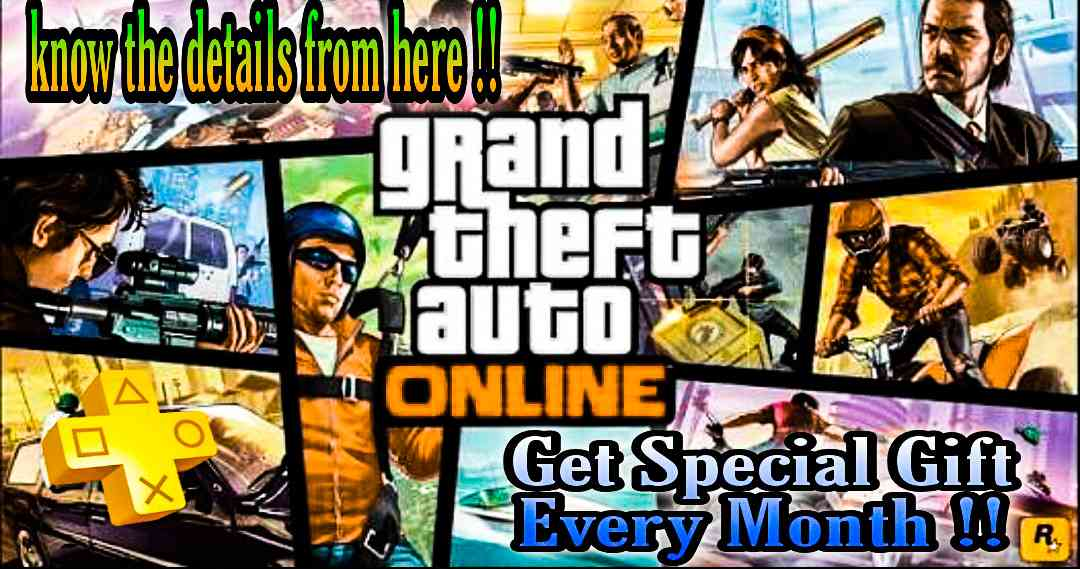 PS Plus Members Will Get This Special Gift in GTA Online Every Month Till The Launch Of GTA 5 on PS5 console, ps plus gta online 1 million